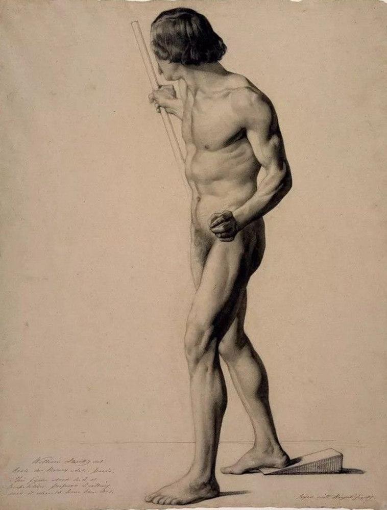 杭州艺考画室给你造型生动,百看不厌的62幅人体素描,33