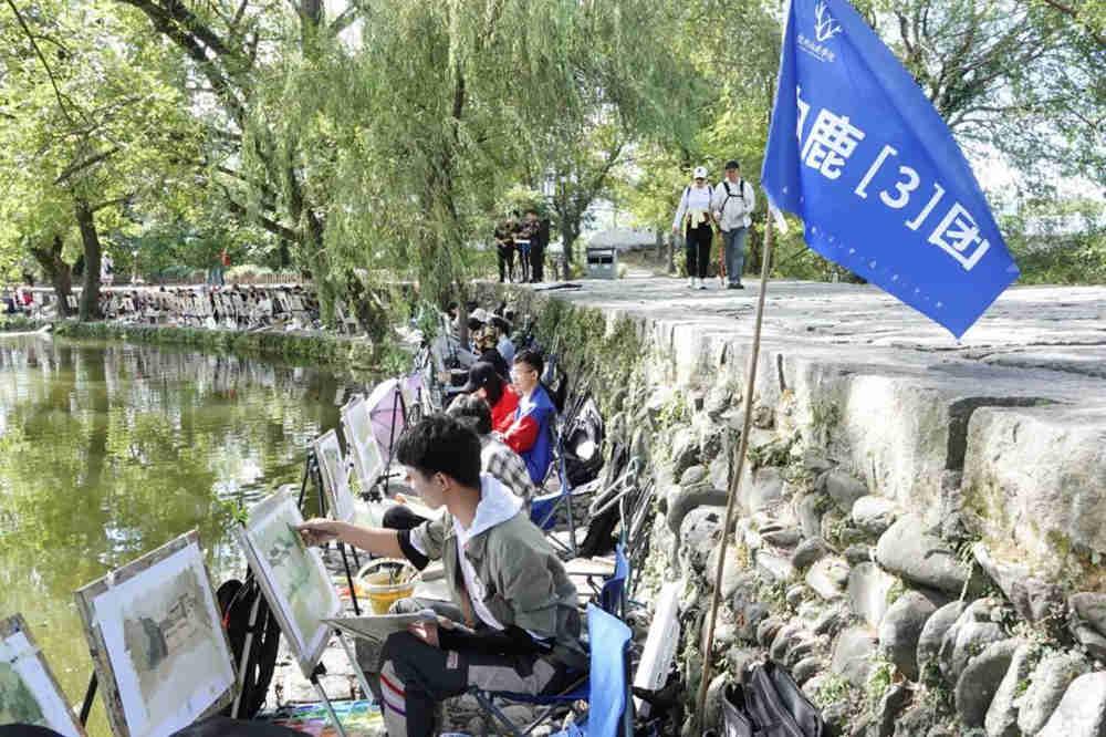 杭州艺考画室写生季 | 杭州白鹿学院下乡写生通知及注意事项,29
