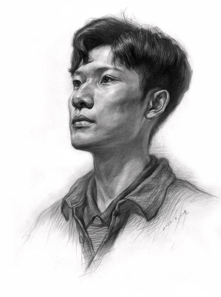 杭州艺考画室告诉你素描结构、色调、质感该如何表现?,34