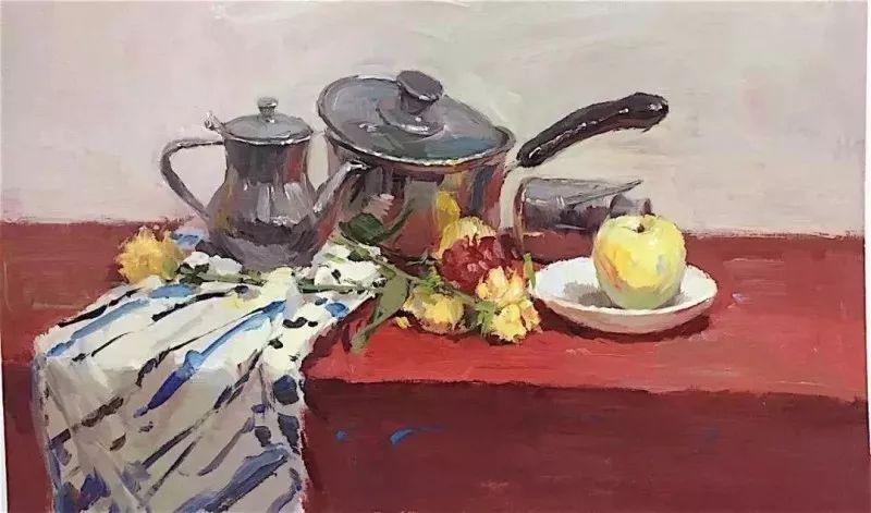 杭州艺考画室给你全面剖析色彩风景与色彩静物,美术生速看,14
