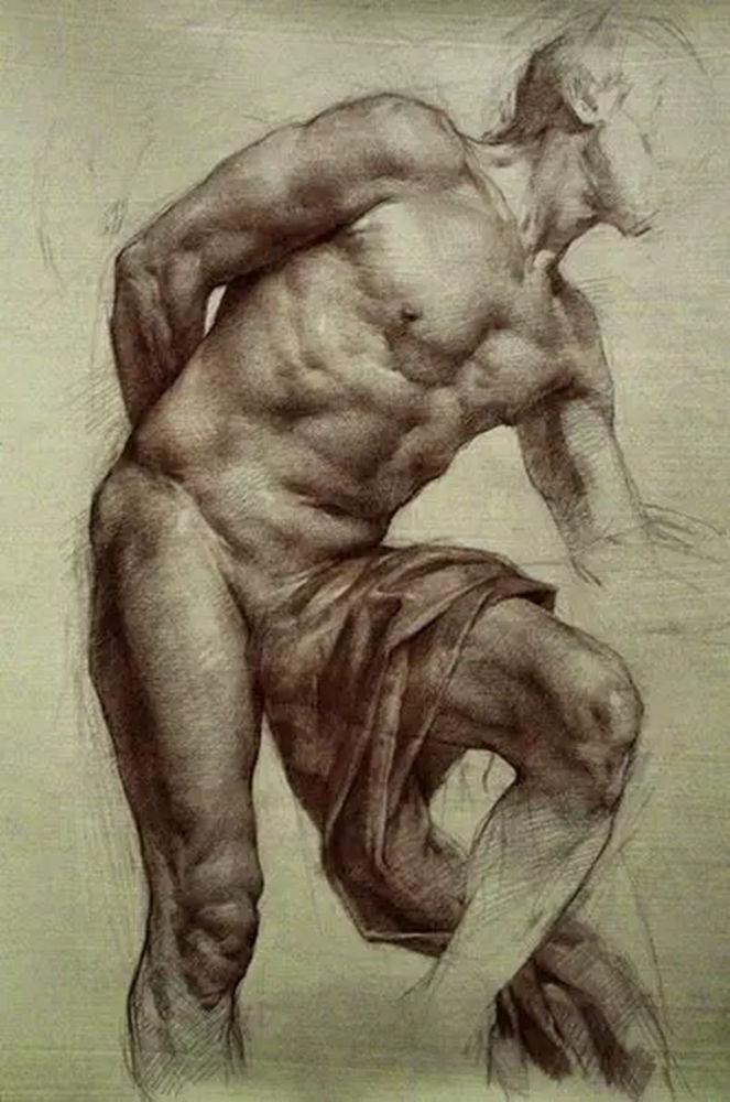 如何处理好人物素描的头像?杭州艺考画室带你看看这些作品,15