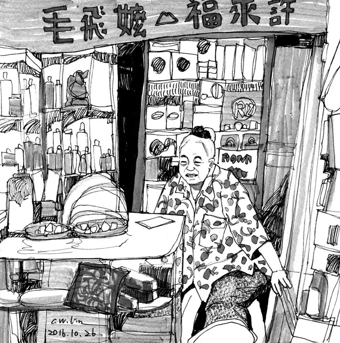 想考美院,杭州艺考画室聚德码住这些场景速写就能考取高分,05