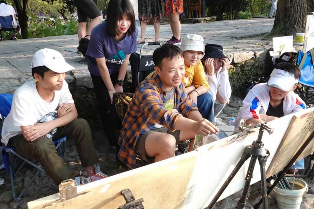 杭州艺考画室写生季 | 杭州白鹿学院下乡写生通知及注意事项,31