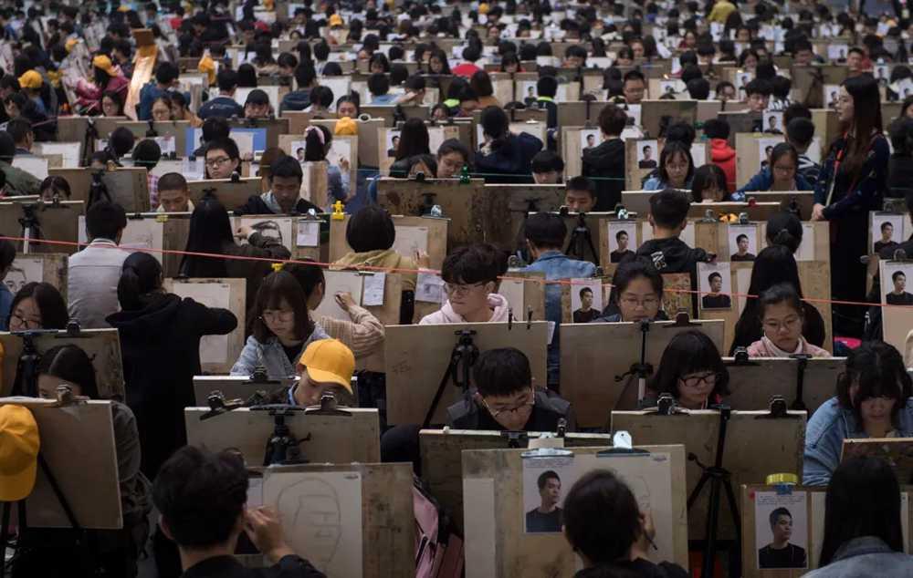 杭州美术培训班快讯 | 美术联考和校考哪个竞争大,03