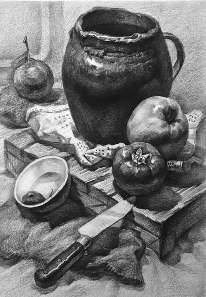 杭州白鹿画室,杭州画室,杭州素描美术培训,16