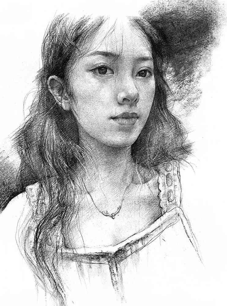 杭州艺考画室给你整理了神韵素描,看看这扎实的功底,03
