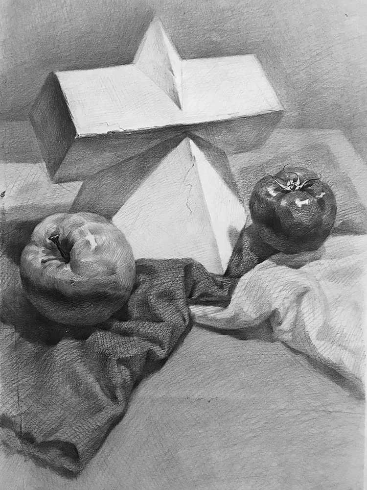 杭州白鹿画室,杭州画室,杭州素描美术培训,24