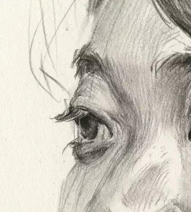 杭州艺考画室素描教学|教你画微胖女青年素描头像,11