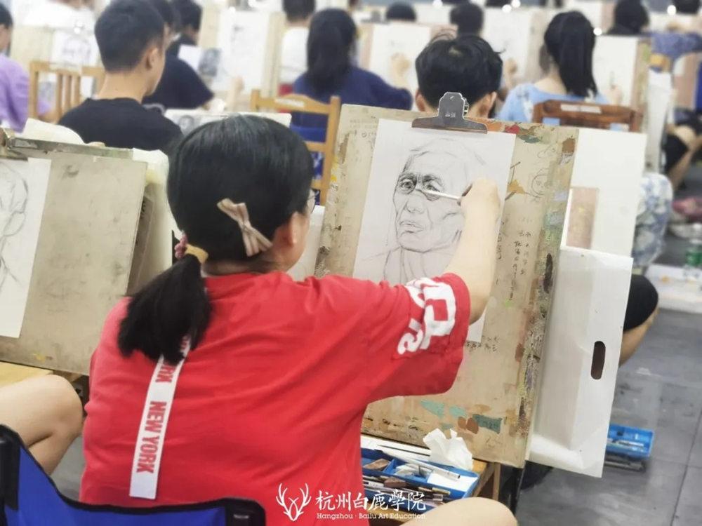 杭州白鹿日常 | 你说艺考美术生考大学很容易?你来试一试,28