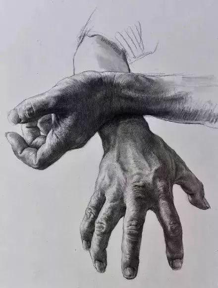 不想素描带手半身像成为你的弱项!一定要看杭州画室集训班整理这篇,11