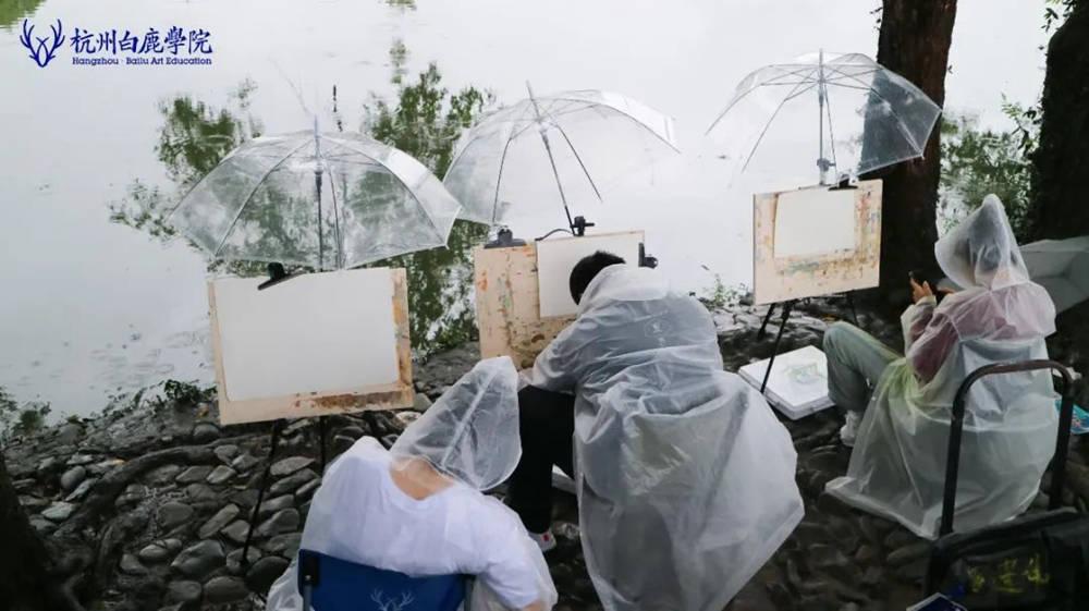 杭州艺考画室白鹿写生季 | 秋天的第一场写生未完待续,41