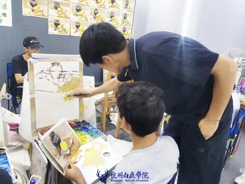 杭州白鹿日常 | 你说艺考美术生考大学很容易?你来试一试,48