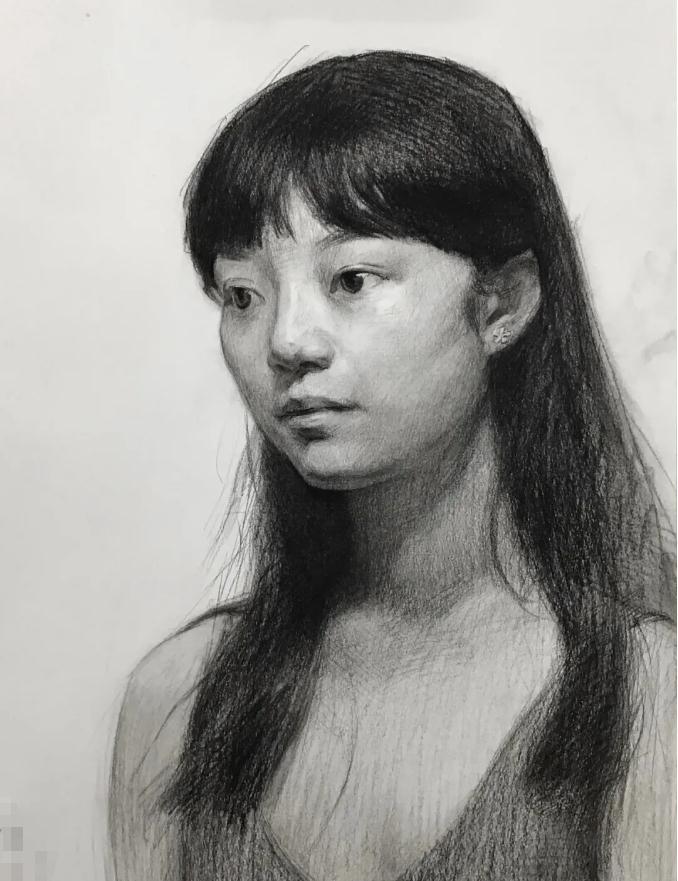 杭州艺考画室素描教程:素描关系是深入刻画的合理,13