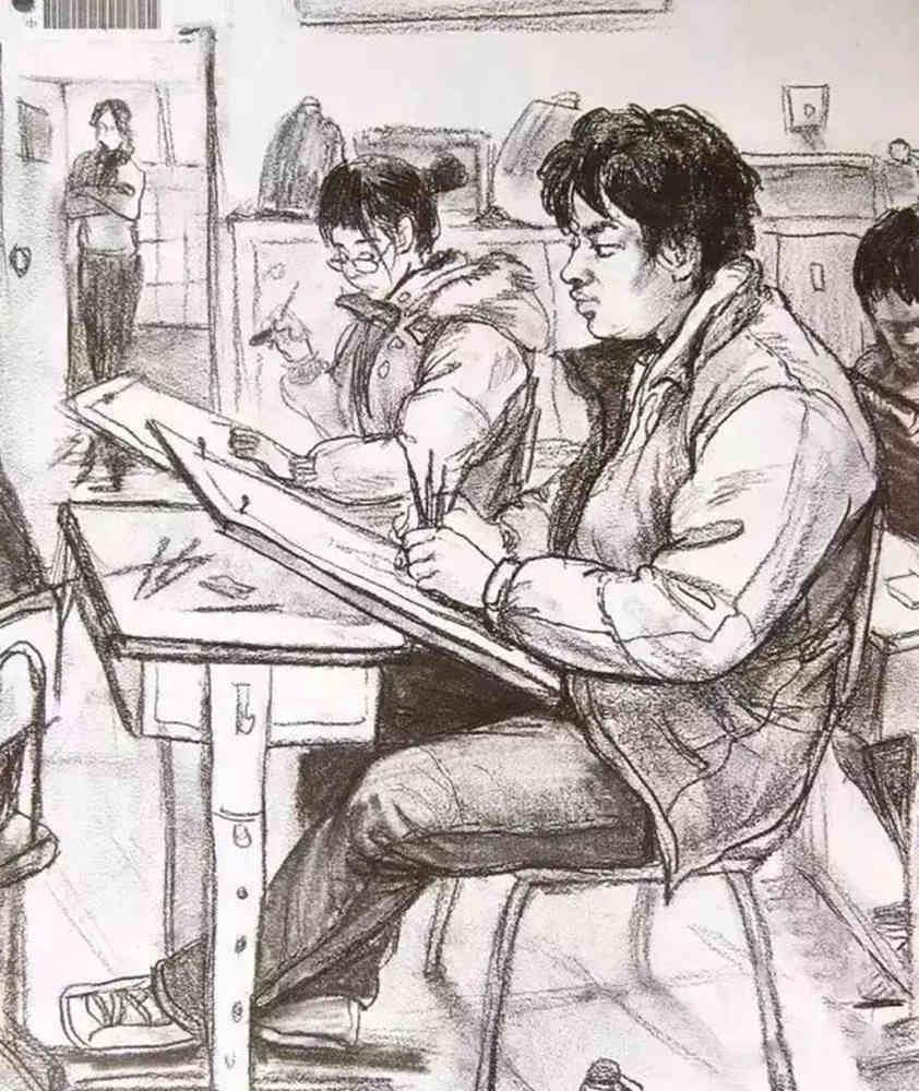 杭州艺考画室给大家整理了央美高分卷-素描、色彩、速写,21
