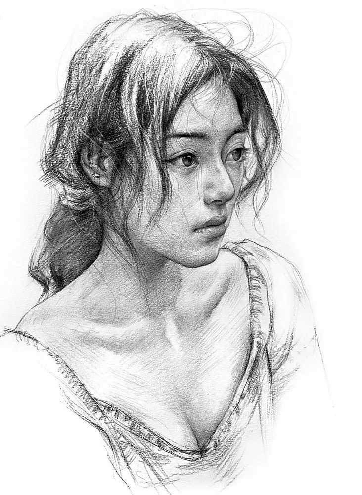 杭州艺考画室给你整理了神韵素描,看看这扎实的功底,05