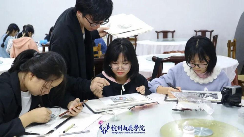 杭州艺考画室白鹿写生季 | 秋天的第一场写生未完待续,59