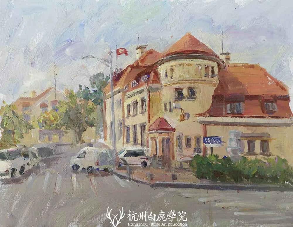 杭州艺考画室写生季 | 杭州白鹿学院下乡写生通知及注意事项,49