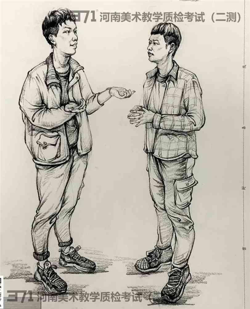 为更好的打磨自己,杭州画室集训班分享2021届河南省二模高分卷,18