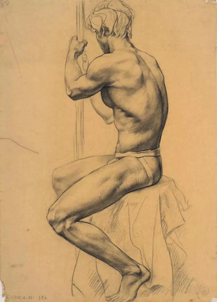杭州艺考画室给你造型生动,百看不厌的62幅人体素描,15