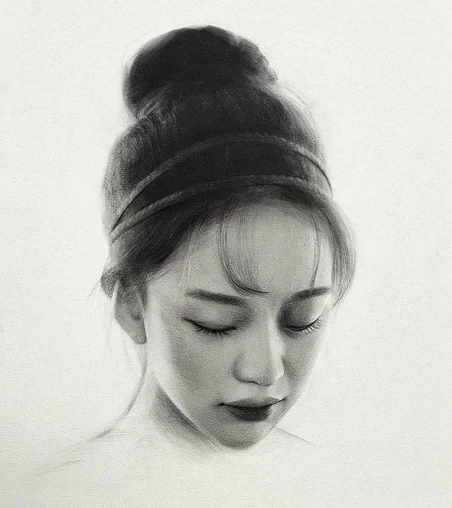 杭州艺考画室给你整理了神韵素描,看看这扎实的功底,17