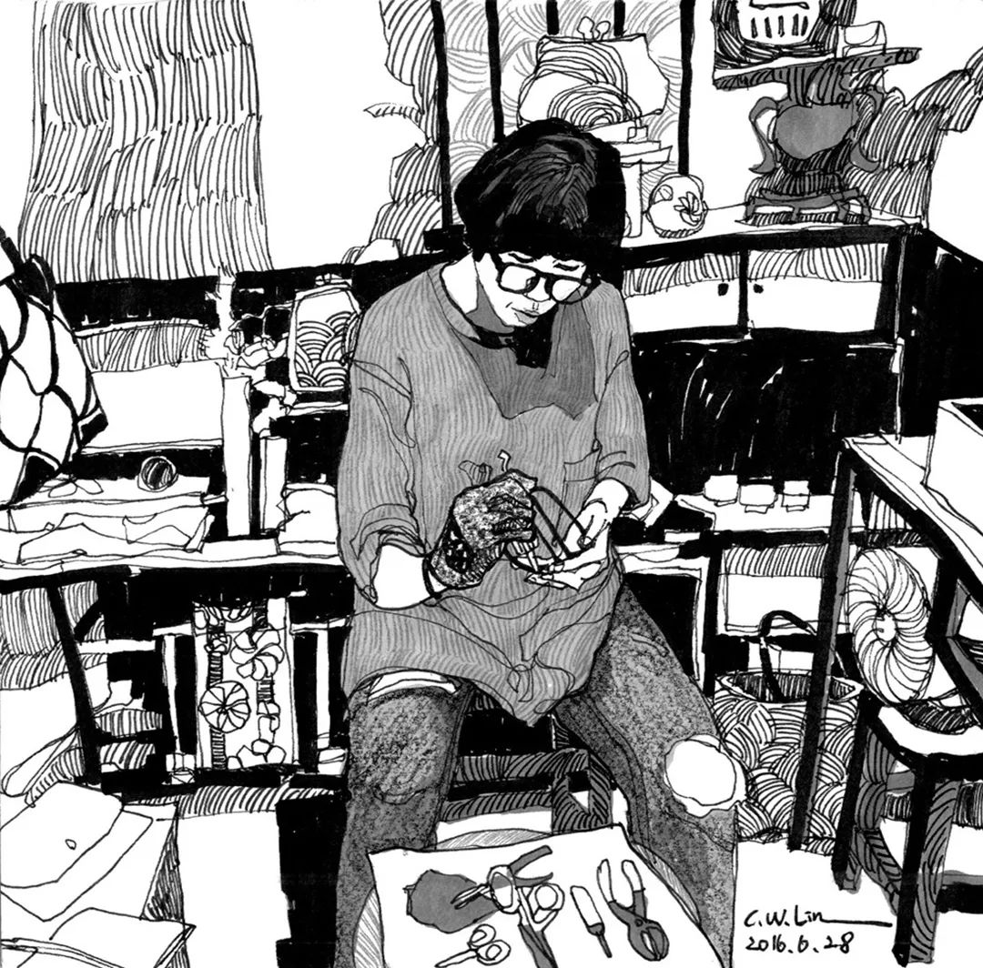 想考美院,杭州艺考画室聚德码住这些场景速写就能考取高分,07