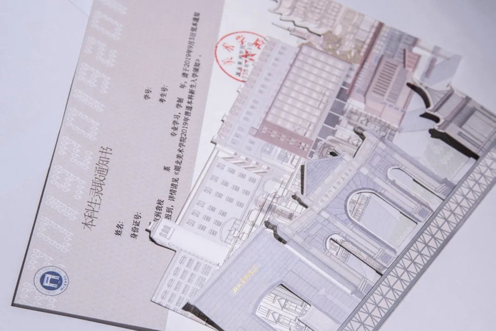 杭州白鹿画室快讯 | 2019九大美院录取通知书大赏,今年你想收到哪一封,29