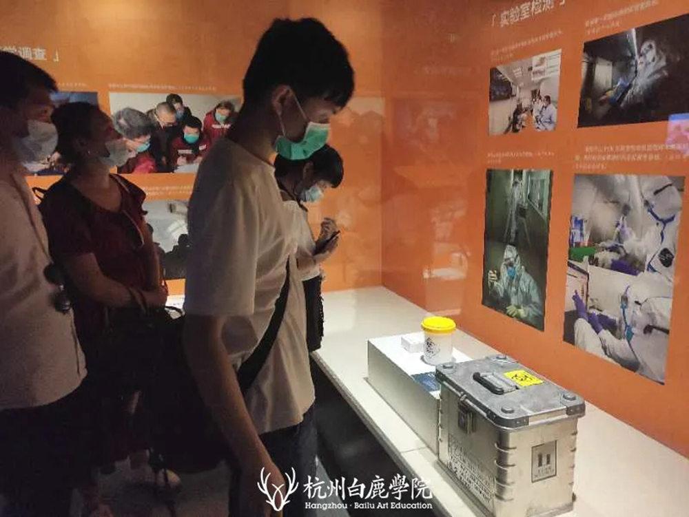 杭州艺考画室暑假班 | 游学致敬抗疫英雄,强国少年未来可期,27