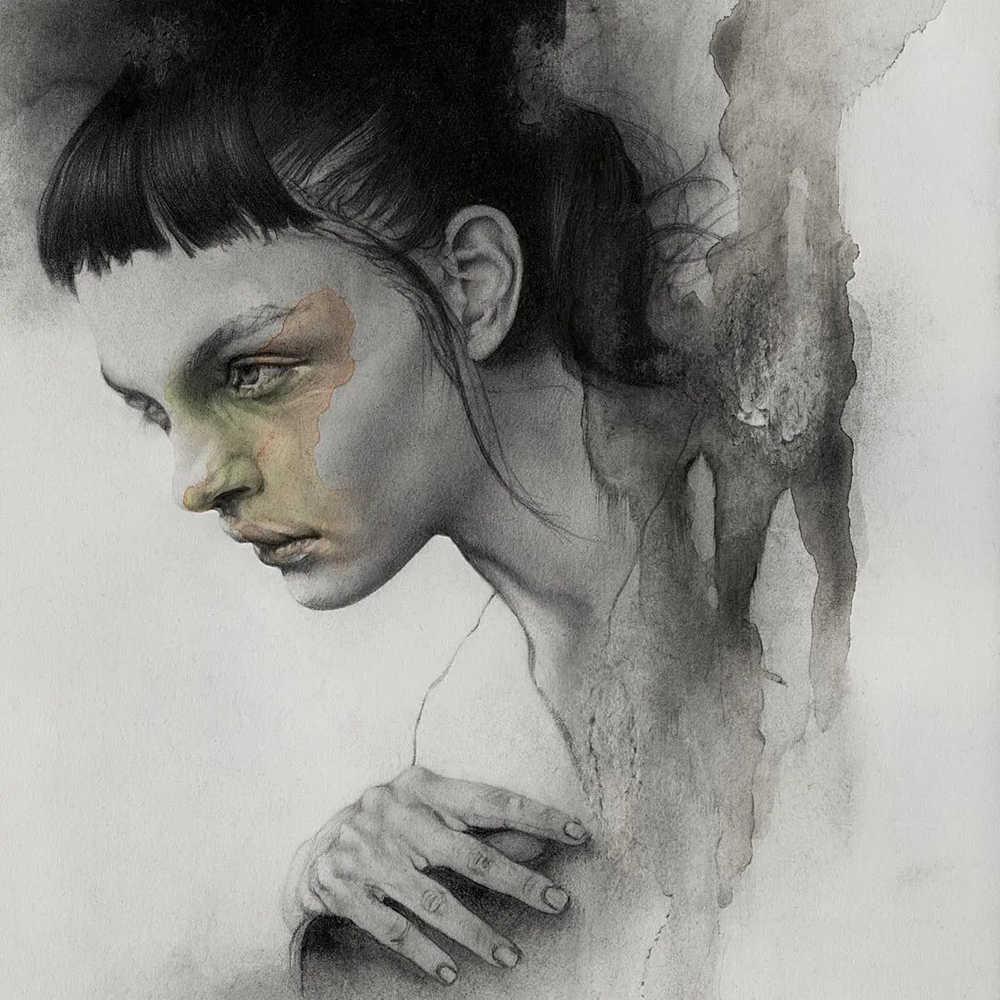 大神的素描,画的就是感觉,杭州艺考画室带你领略,26