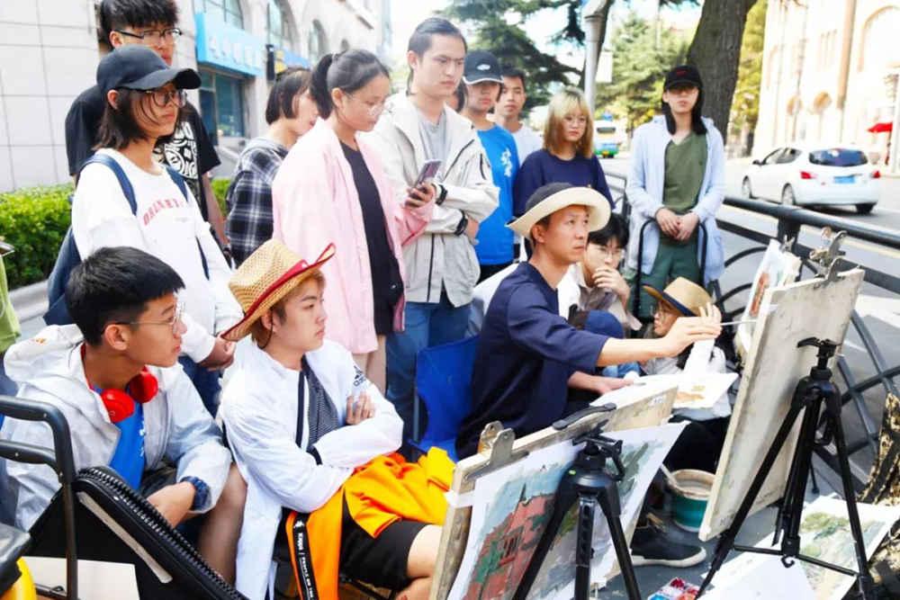 杭州艺考画室写生季 | 杭州白鹿学院下乡写生通知及注意事项,32