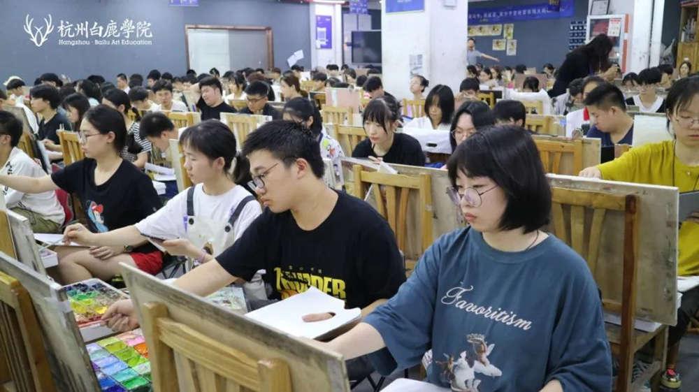 来吧,展示!杭州艺考画室白鹿八月月考进行中,05