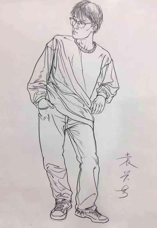 杭州画室集训班速写名师——袁兴芳作品集,06