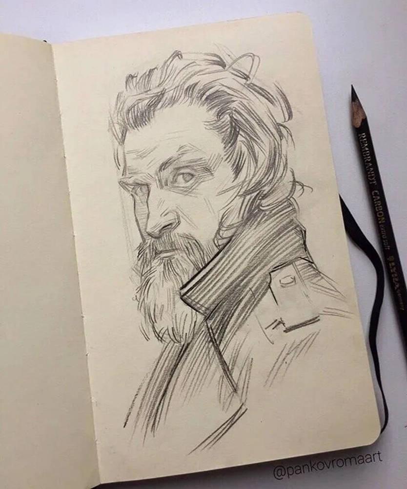 杭州艺考画室整理的一眼就爱的素描,这松动的笔触绝了,11