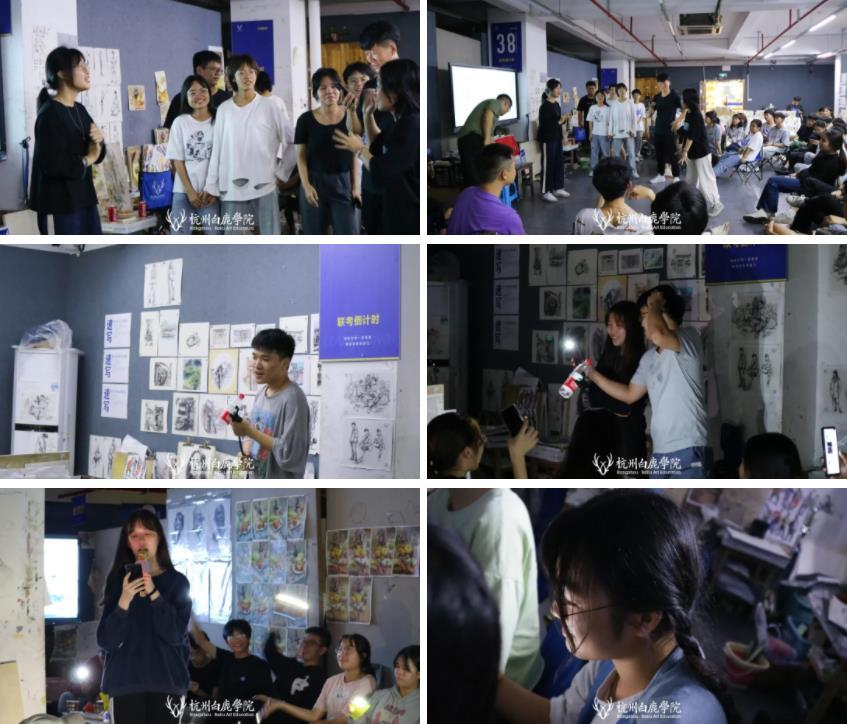 这个双节,杭州艺考画室白鹿学院陪你们过,16