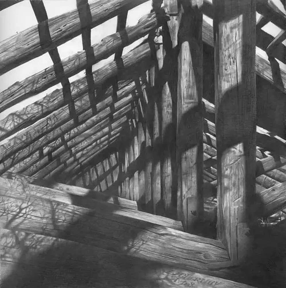 素描这样处理光影,很出彩,杭州艺考画室建议收藏,23