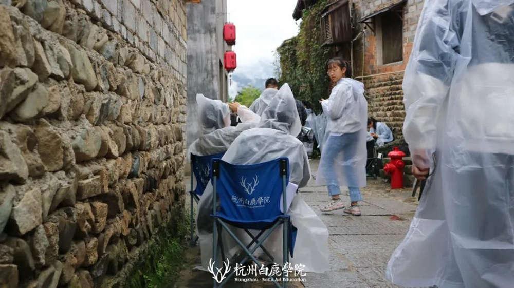 杭州艺考画室白鹿写生季 | 秋天的第一场写生未完待续,42