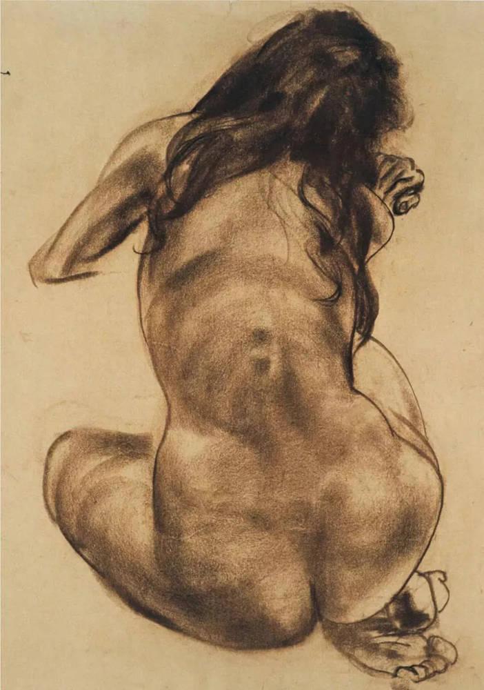 杭州艺考画室给你造型生动,百看不厌的62幅人体素描,21