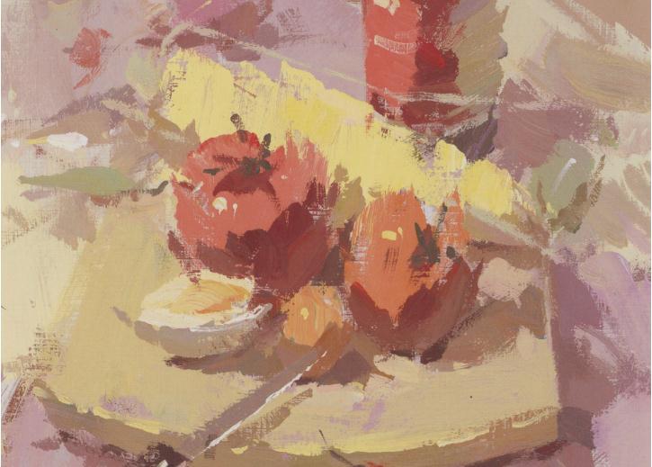 杭州艺考画室老师教你如何区分画面的色彩的冷暖关系,02