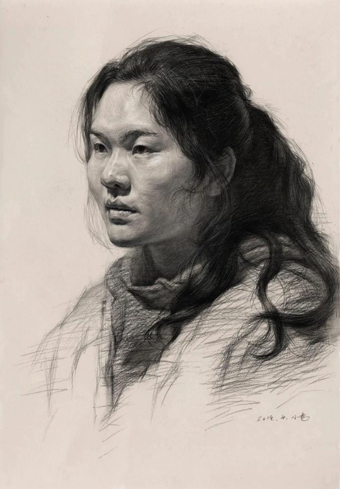杭州艺考画室告诉你素描结构、色调、质感该如何表现?,24