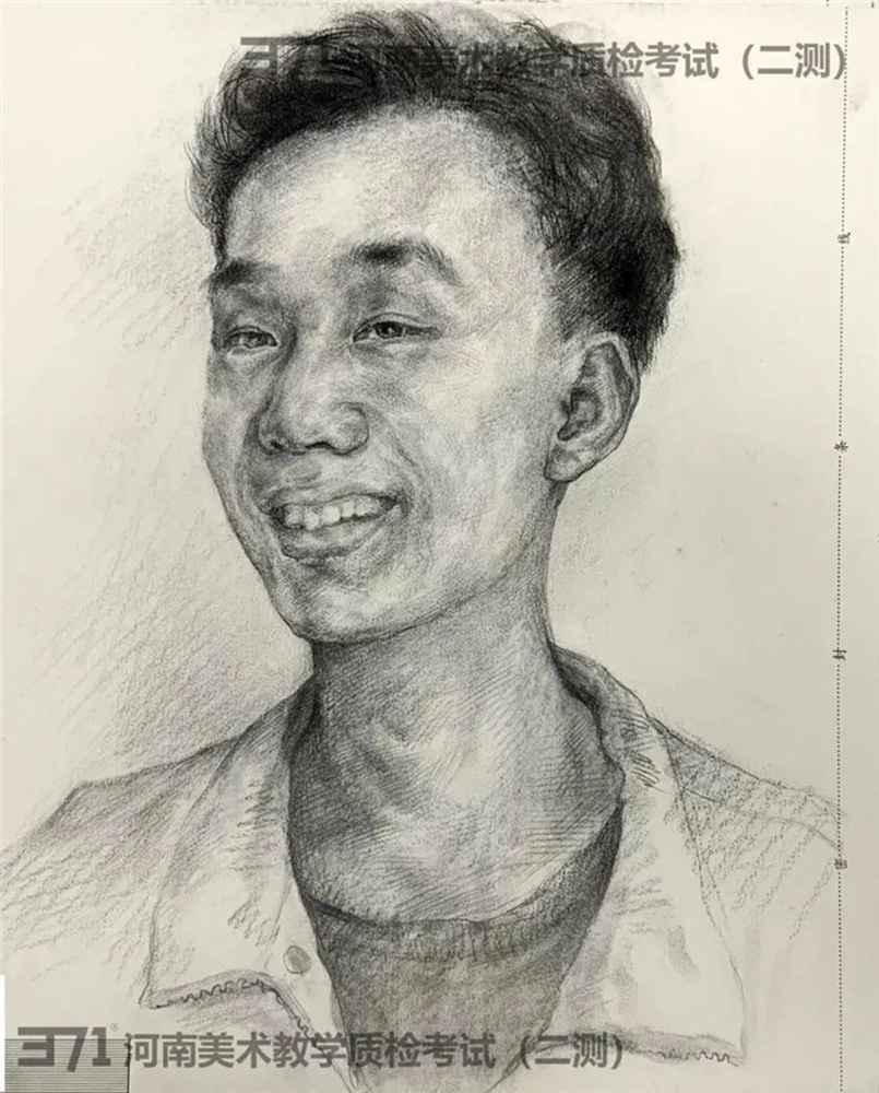 为更好的打磨自己,杭州画室集训班分享2021届河南省二模高分卷,40
