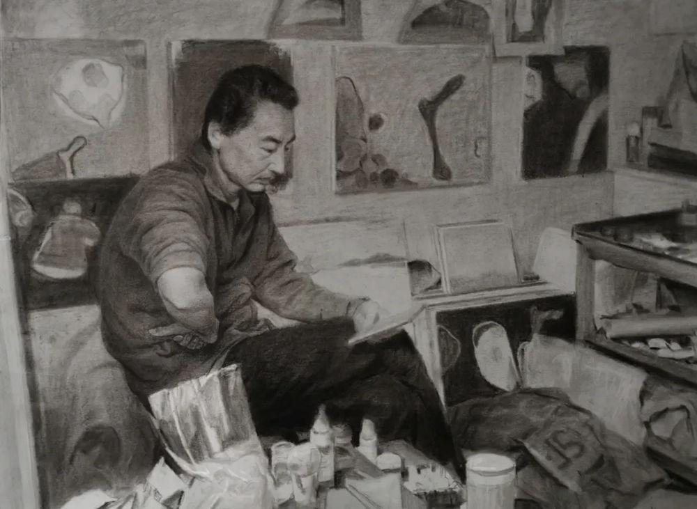 杭州艺考画室,杭州画室培训,杭州画室作品欣赏,09