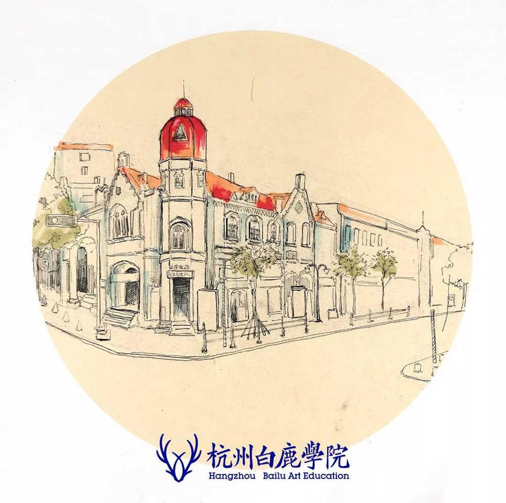 杭州艺考画室写生季 | 杭州白鹿学院下乡写生通知及注意事项,78