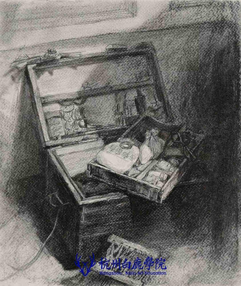 杭州艺考画室写生季 | 杭州白鹿学院下乡写生通知及注意事项,65