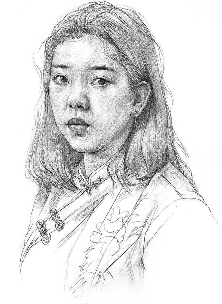 杭州艺考画室给你整理了神韵素描,看看这扎实的功底,14