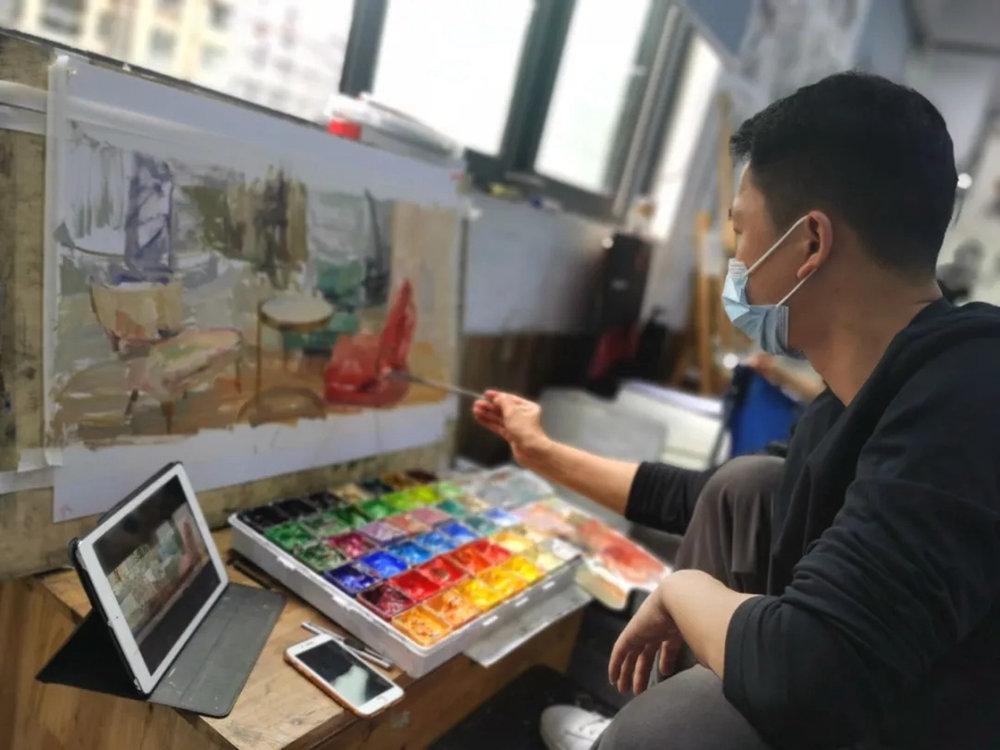 杭州艺考画室日常 | 你说美术生考大学很容易?要不你来试一试,34