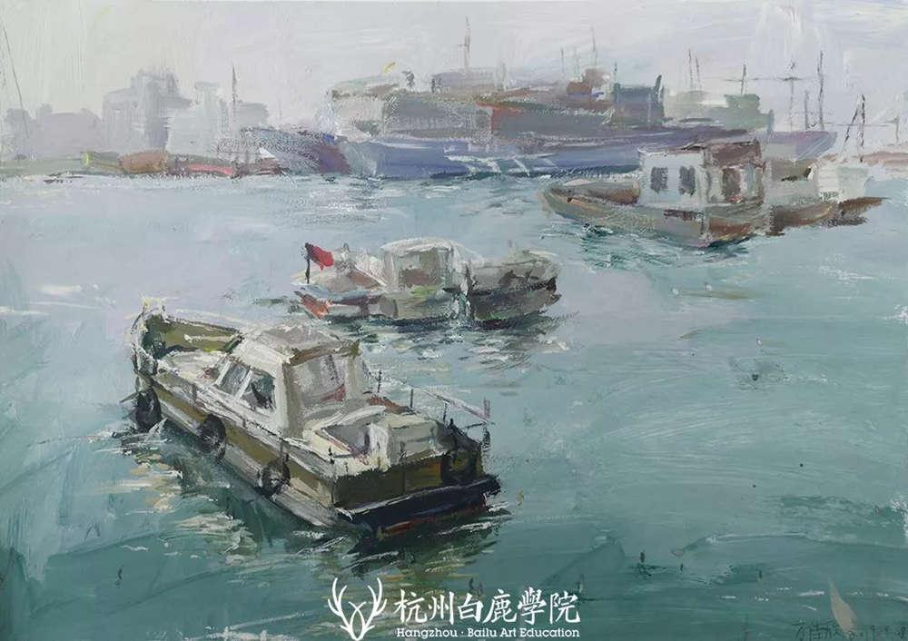 杭州艺考画室写生季 | 杭州白鹿学院下乡写生通知及注意事项,39