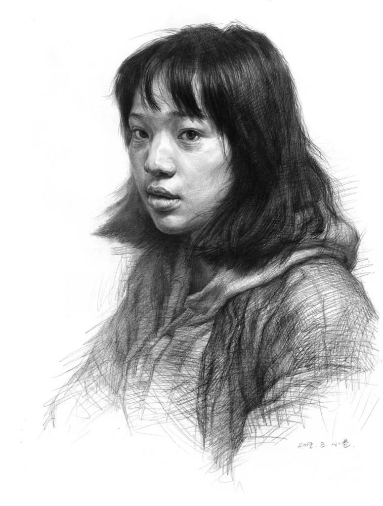 杭州艺考画室告诉你素描结构、色调、质感该如何表现?,21