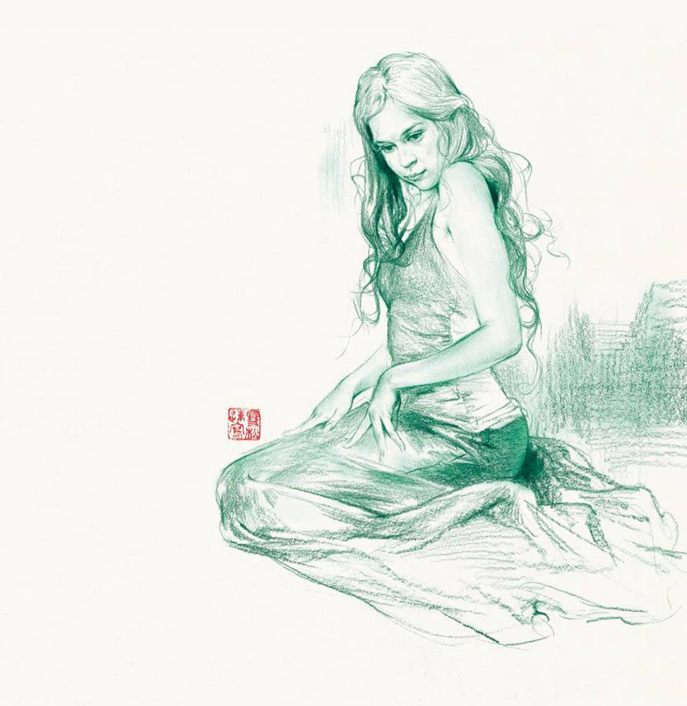 杭州艺考画室速写教学|30分钟速写中如何去把握形体呢,04
