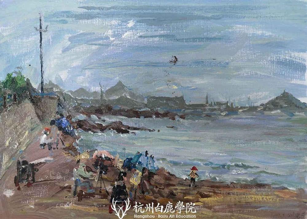 杭州艺考画室写生季 | 杭州白鹿学院下乡写生通知及注意事项,47