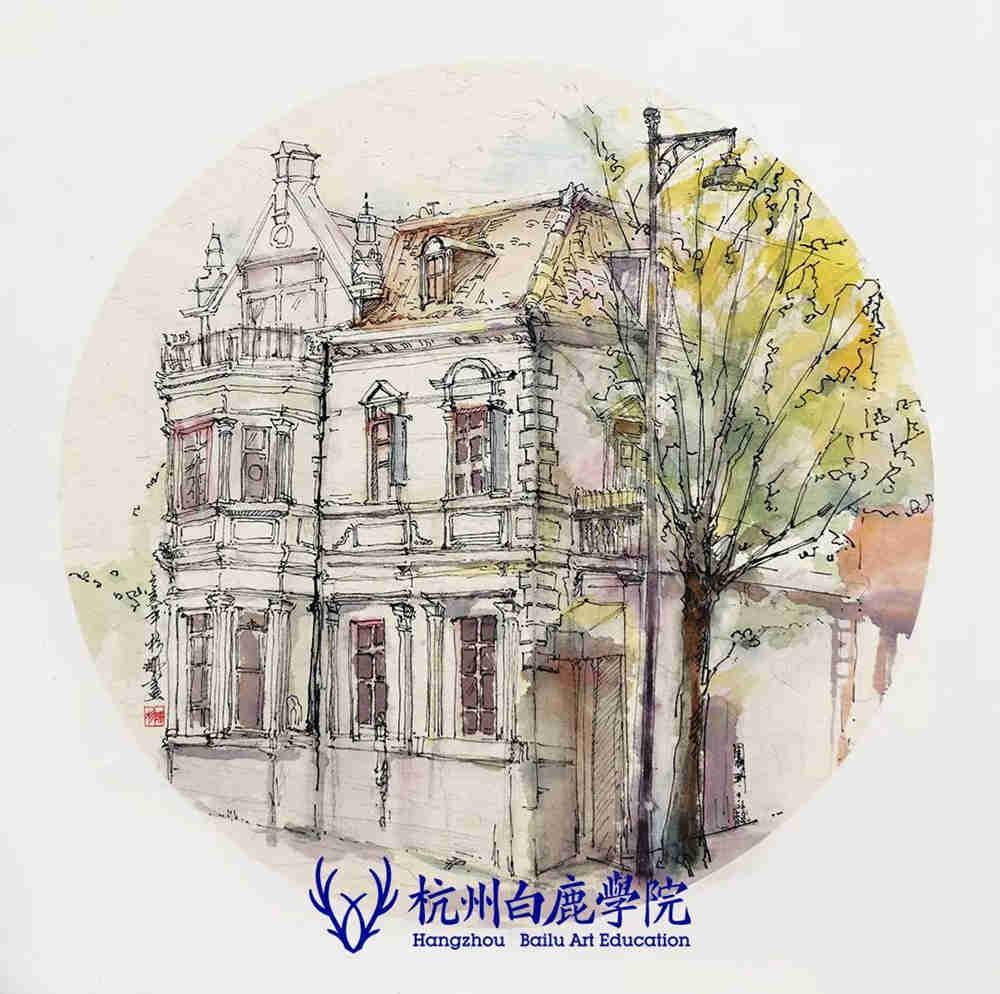 杭州艺考画室写生季 | 杭州白鹿学院下乡写生通知及注意事项,79