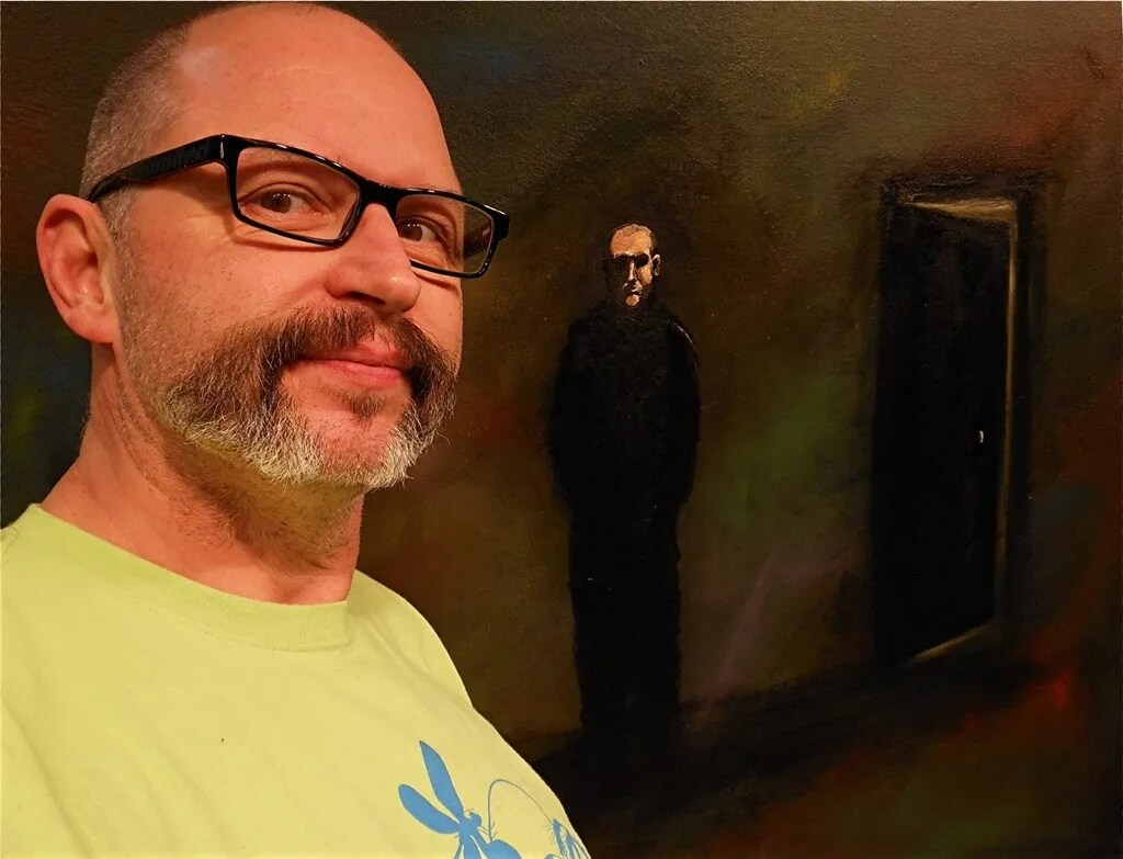 杭州画室美术培训分享|迈克尔·托尔森·罗伯斯—自学成才艺术家作品欣赏